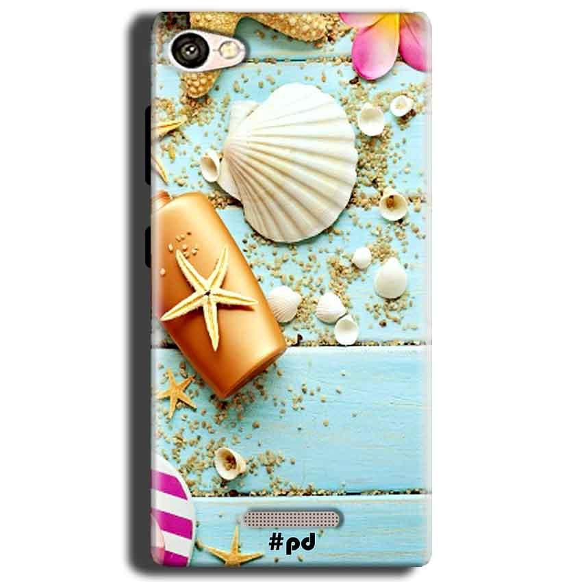 Gionee S Plus Mobile Covers Cases Pearl Star Fish - Lowest Price - Paybydaddy.com