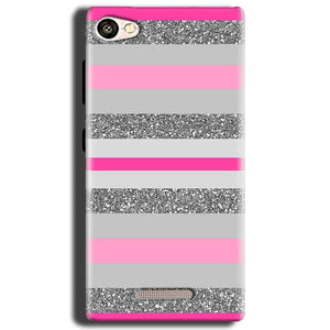 Gionee S Plus Mobile Covers Cases Pink colour pattern - Lowest Price - Paybydaddy.com