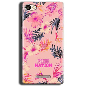 Gionee S Plus Mobile Covers Cases Pink nation - Lowest Price - Paybydaddy.com