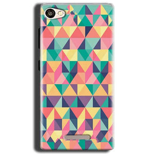 Gionee S Plus Mobile Covers Cases Prisma coloured design - Lowest Price - Paybydaddy.com