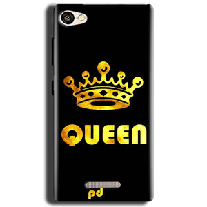Gionee S Plus Mobile Covers Cases Queen With Crown in gold - Lowest Price - Paybydaddy.com