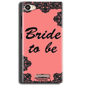 Gionee S Plus Mobile Covers Cases Mobile Covers Cases bride to be with ring Black Pink - Lowest Price - Paybydaddy.com