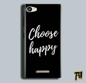 Gionee S Plus Mobile Covers Cases Choose happy - Lowest Price - Paybydaddy.com