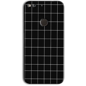 Google Pixel Mobile Covers Cases Black with White Checks - Lowest Price - Paybydaddy.com