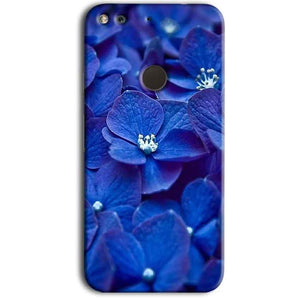 Google Pixel Mobile Covers Cases Blue flower - Lowest Price - Paybydaddy.com