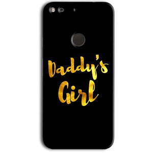 Google Pixel Mobile Covers Cases Daddys girl - Lowest Price - Paybydaddy.com