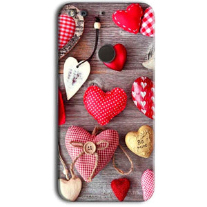 Google Pixel Mobile Covers Cases Hearts- Lowest Price - Paybydaddy.com