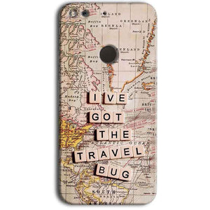 Google Pixel Mobile Covers Cases Live Travel Bug - Lowest Price - Paybydaddy.com