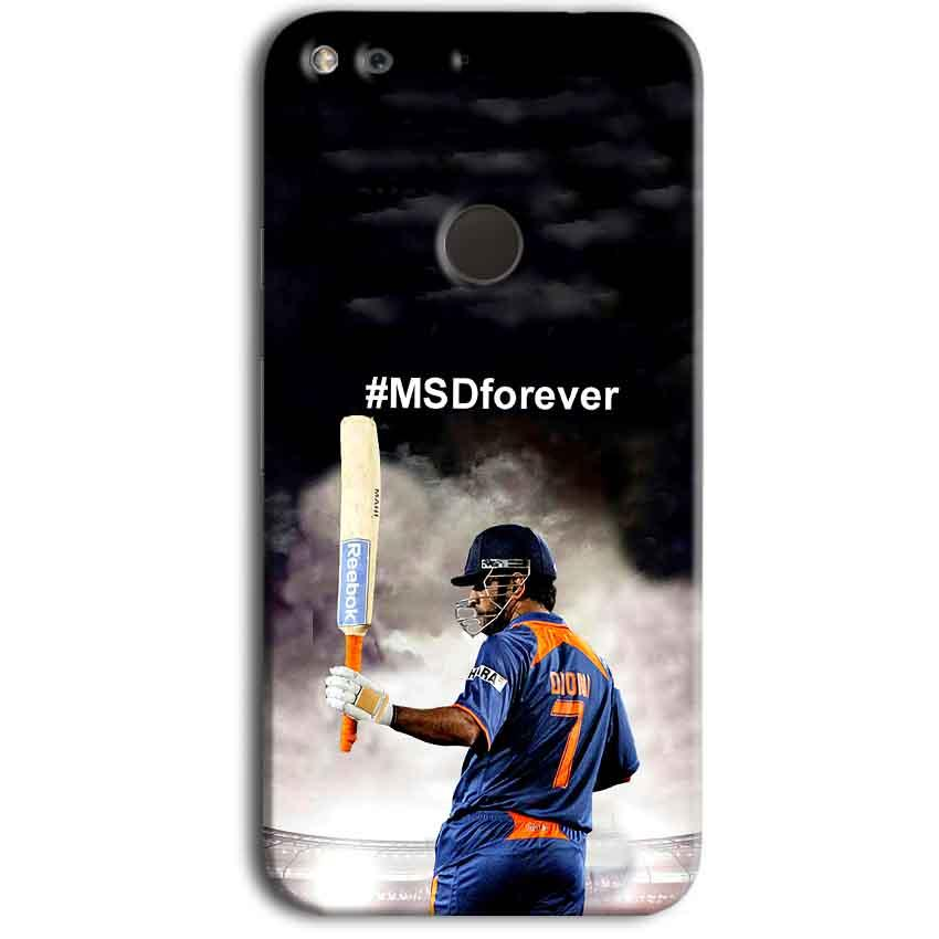Google Pixel Mobile Covers Cases MS dhoni Forever - Lowest Price - Paybydaddy.com