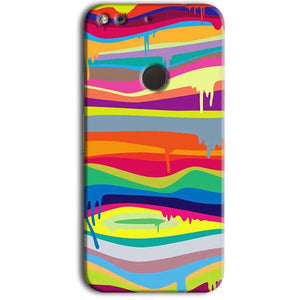 Google Pixel Mobile Covers Cases Melted colours - Lowest Price - Paybydaddy.com