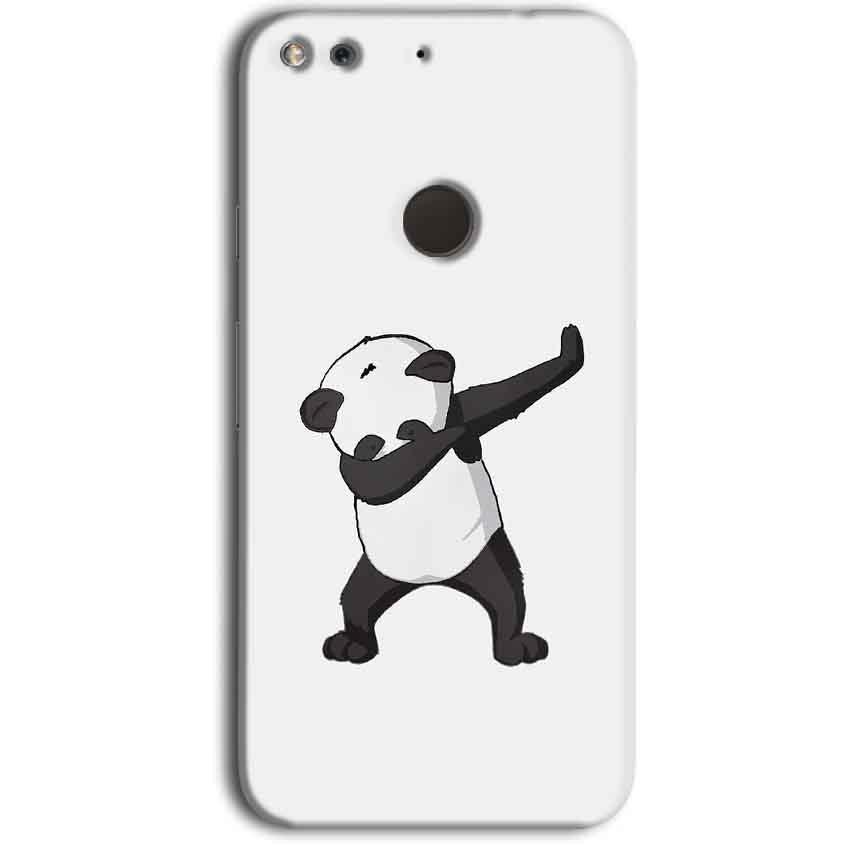 Google Pixel Mobile Covers Cases Panda Dab - Lowest Price - Paybydaddy.com