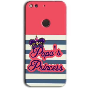 Google Pixel Mobile Covers Cases Papas Princess - Lowest Price - Paybydaddy.com