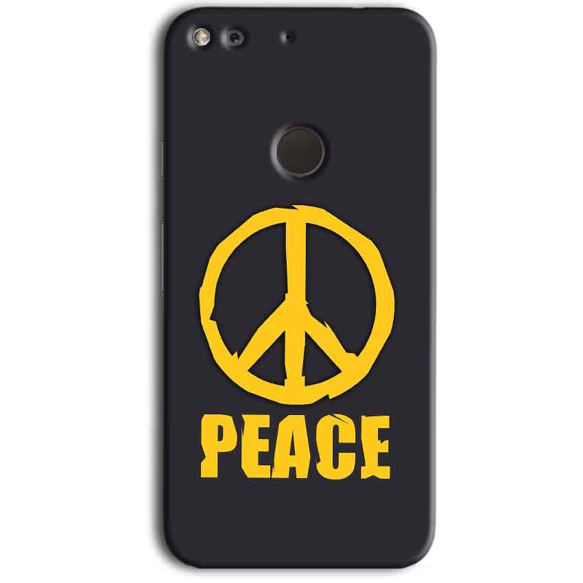 Google Pixel Mobile Covers Cases Peace Blue Yellow - Lowest Price - Paybydaddy.com