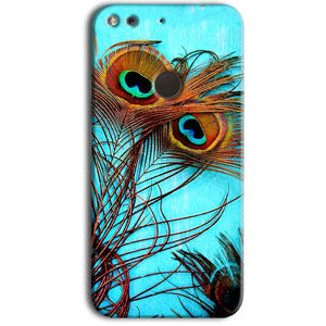 Google Pixel Mobile Covers Cases Peacock blue wings - Lowest Price - Paybydaddy.com