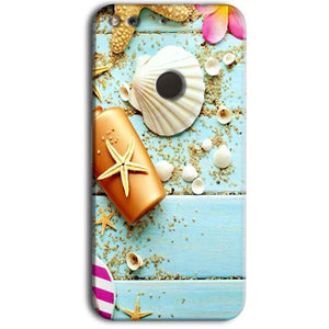 Google Pixel Mobile Covers Cases Pearl Star Fish - Lowest Price - Paybydaddy.com