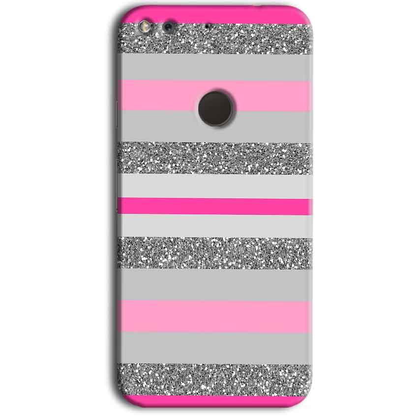 Google Pixel Mobile Covers Cases Pink colour pattern - Lowest Price - Paybydaddy.com