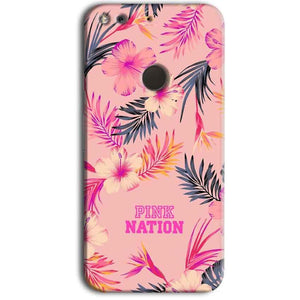 Google Pixel Mobile Covers Cases Pink nation - Lowest Price - Paybydaddy.com