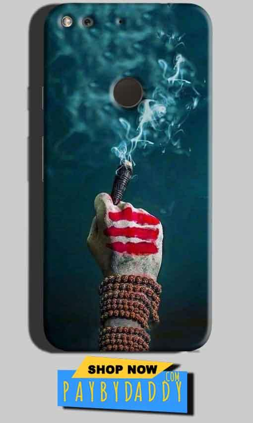 Google Pixel Mobile Covers Cases Shiva Hand With Clilam - Lowest Price - Paybydaddy.com