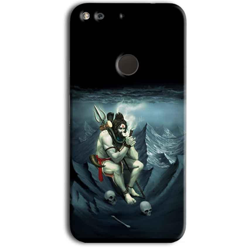 Google Pixel Mobile Covers Cases Shiva Smoking - Lowest Price - Paybydaddy.com