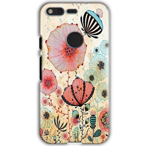 Google Pixel XL Mobile Covers Cases Deep Water Jelly fish- Lowest Price - Paybydaddy.com