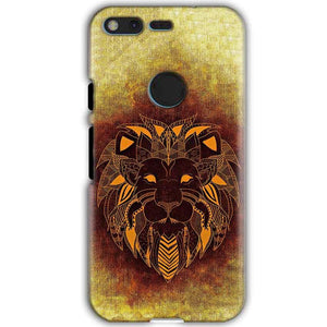 Google Pixel XL Mobile Covers Cases Lion face art - Lowest Price - Paybydaddy.com