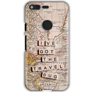 Google Pixel XL Mobile Covers Cases Live Travel Bug - Lowest Price - Paybydaddy.com