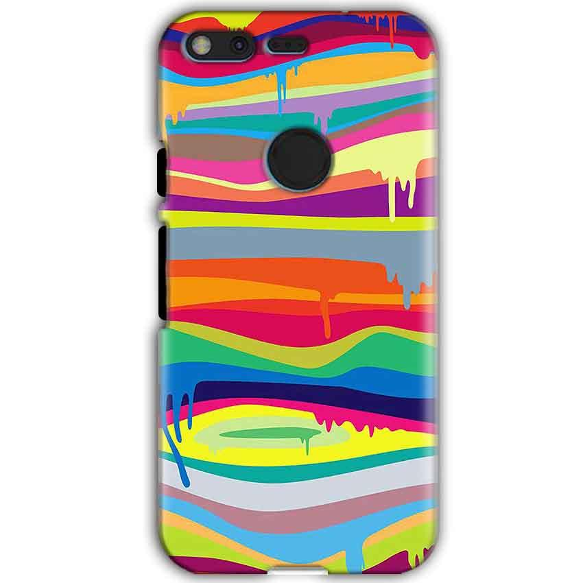 Google Pixel XL Mobile Covers Cases Melted colours - Lowest Price - Paybydaddy.com