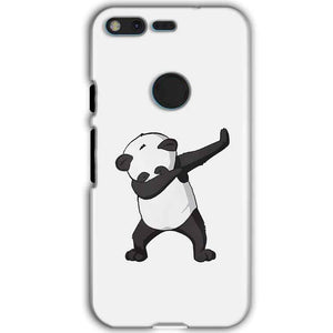 Google Pixel XL Mobile Covers Cases Panda Dab - Lowest Price - Paybydaddy.com