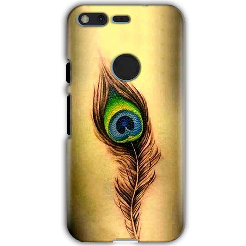 Google Pixel XL Mobile Covers Cases Peacock coloured art - Lowest Price - Paybydaddy.com