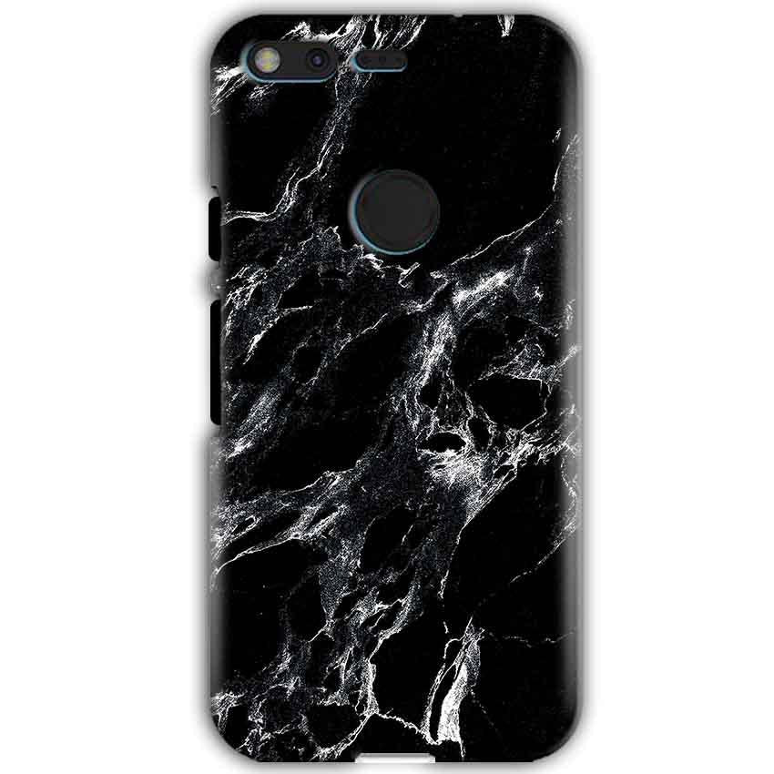Google Pixel XL Mobile Covers Cases Pure Black Marble Texture - Lowest Price - Paybydaddy.com