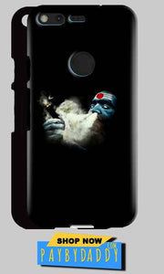 Google Pixel XL Mobile Covers Cases Shiva Aghori Smoking - Lowest Price - Paybydaddy.com