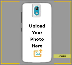 CustomizedIntex HTC Desire 526G Plus  4s Mobile Phone Covers & Back Covers with your Text & Photo