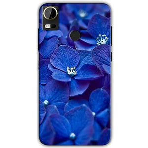 HTC Desire 10 Pro Mobile Covers Cases Blue flower - Lowest Price - Paybydaddy.com