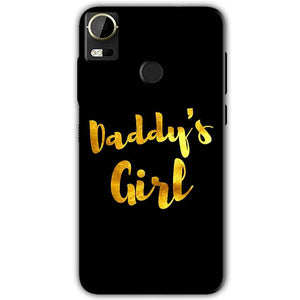 HTC Desire 10 Pro Mobile Covers Cases Daddys girl - Lowest Price - Paybydaddy.com