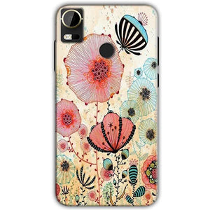 HTC Desire 10 Pro Mobile Covers Cases Deep Water Jelly fish- Lowest Price - Paybydaddy.com