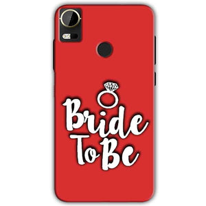 HTC Desire 10 Pro Mobile Covers Cases bride to be with ring - Lowest Price - Paybydaddy.com