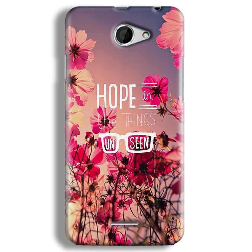 HTC Desire 516 Mobile Covers Cases Hope in the Things Unseen- Lowest Price - Paybydaddy.com