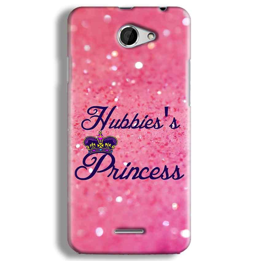 HTC Desire 516 Mobile Covers Cases Hubbies Princess - Lowest Price - Paybydaddy.com