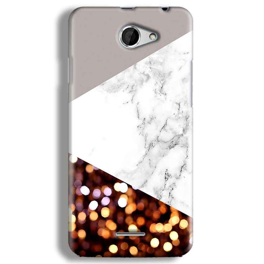 HTC Desire 516 Mobile Covers Cases MARBEL GLITTER - Lowest Price - Paybydaddy.com
