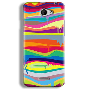 HTC Desire 516 Mobile Covers Cases Melted colours - Lowest Price - Paybydaddy.com