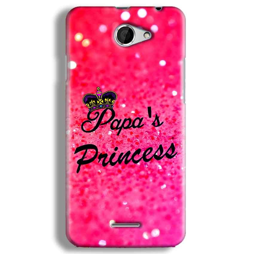 HTC Desire 516 Mobile Covers Cases PAPA PRINCESS - Lowest Price - Paybydaddy.com