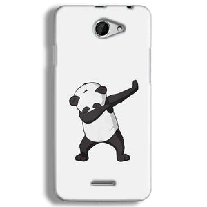 HTC Desire 516 Mobile Covers Cases Panda Dab - Lowest Price - Paybydaddy.com