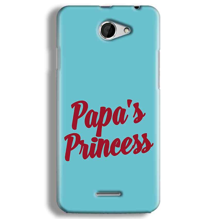 HTC Desire 516 Mobile Covers Cases Papas Princess - Lowest Price - Paybydaddy.com
