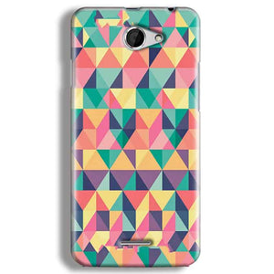 HTC Desire 516 Mobile Covers Cases Prisma coloured design - Lowest Price - Paybydaddy.com