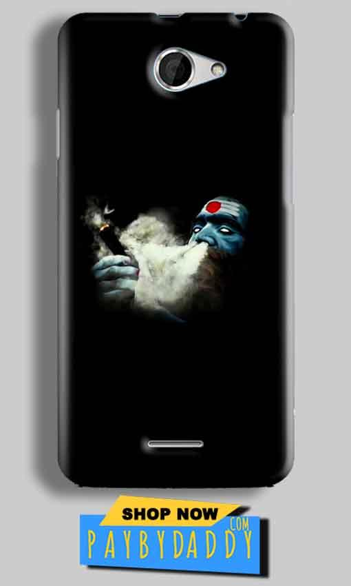 HTC Desire 516 Mobile Covers Cases Shiva Aghori Smoking - Lowest Price - Paybydaddy.com