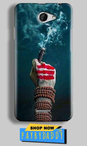 HTC Desire 516 Mobile Covers Cases Shiva Hand With Clilam - Lowest Price - Paybydaddy.com