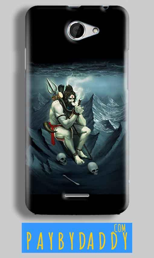 HTC Desire 516 Mobile Covers Cases Shiva Smoking - Lowest Price - Paybydaddy.com