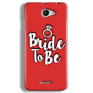HTC Desire 516 Mobile Covers Cases bride to be with ring - Lowest Price - Paybydaddy.com