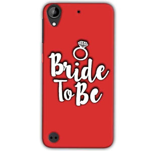 HTC Desire 530 Mobile Covers Cases bride to be with ring - Lowest Price - Paybydaddy.com