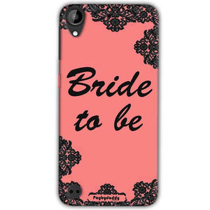 HTC Desire 530 Mobile Covers Cases Mobile Covers Cases bride to be with ring Black Pink - Lowest Price - Paybydaddy.com